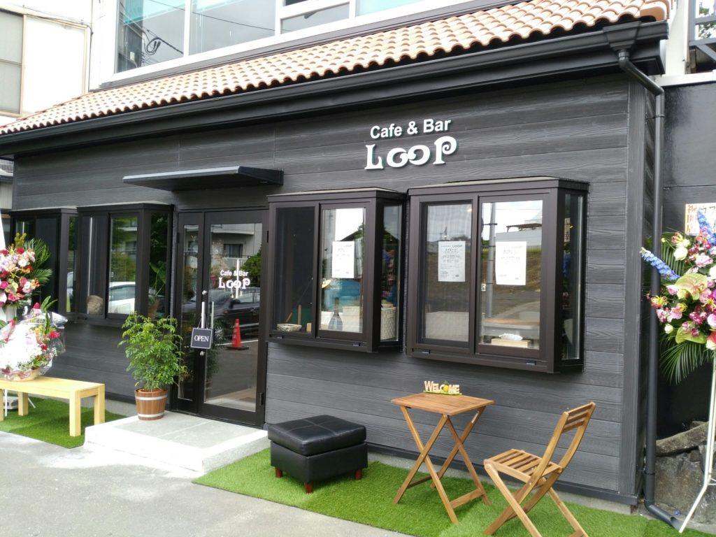太白区山田 cafe&bar LOOP 外観