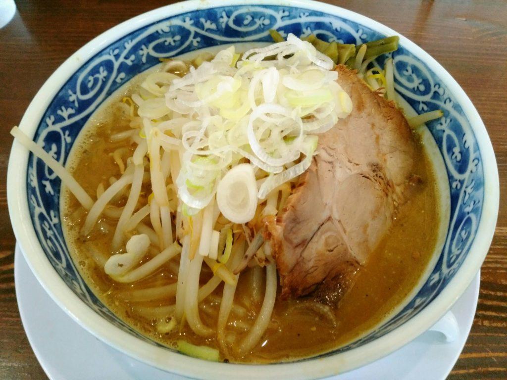 名取市 麺屋八 味噌ラーメン