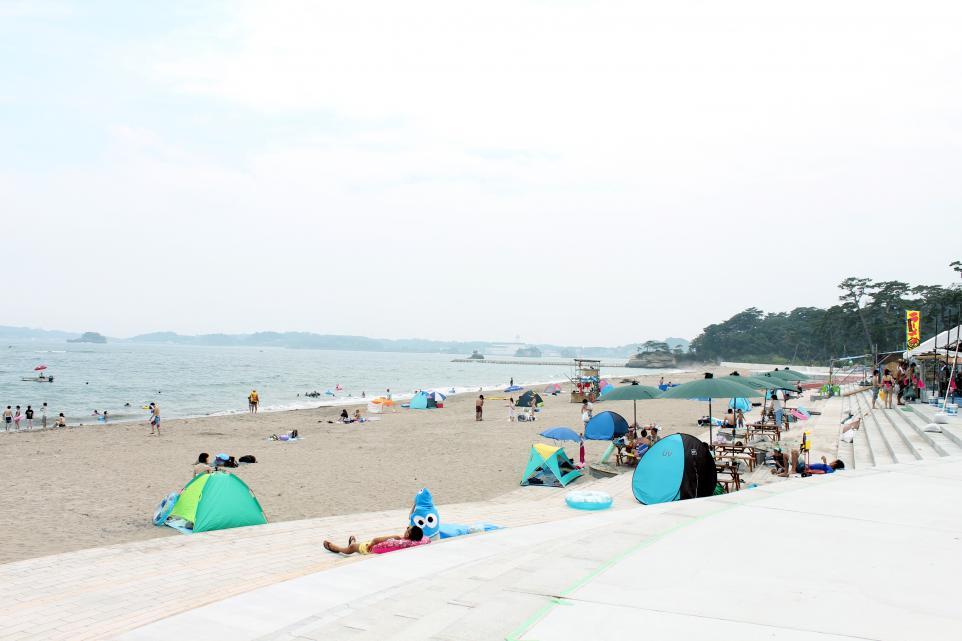 桂島海水浴場