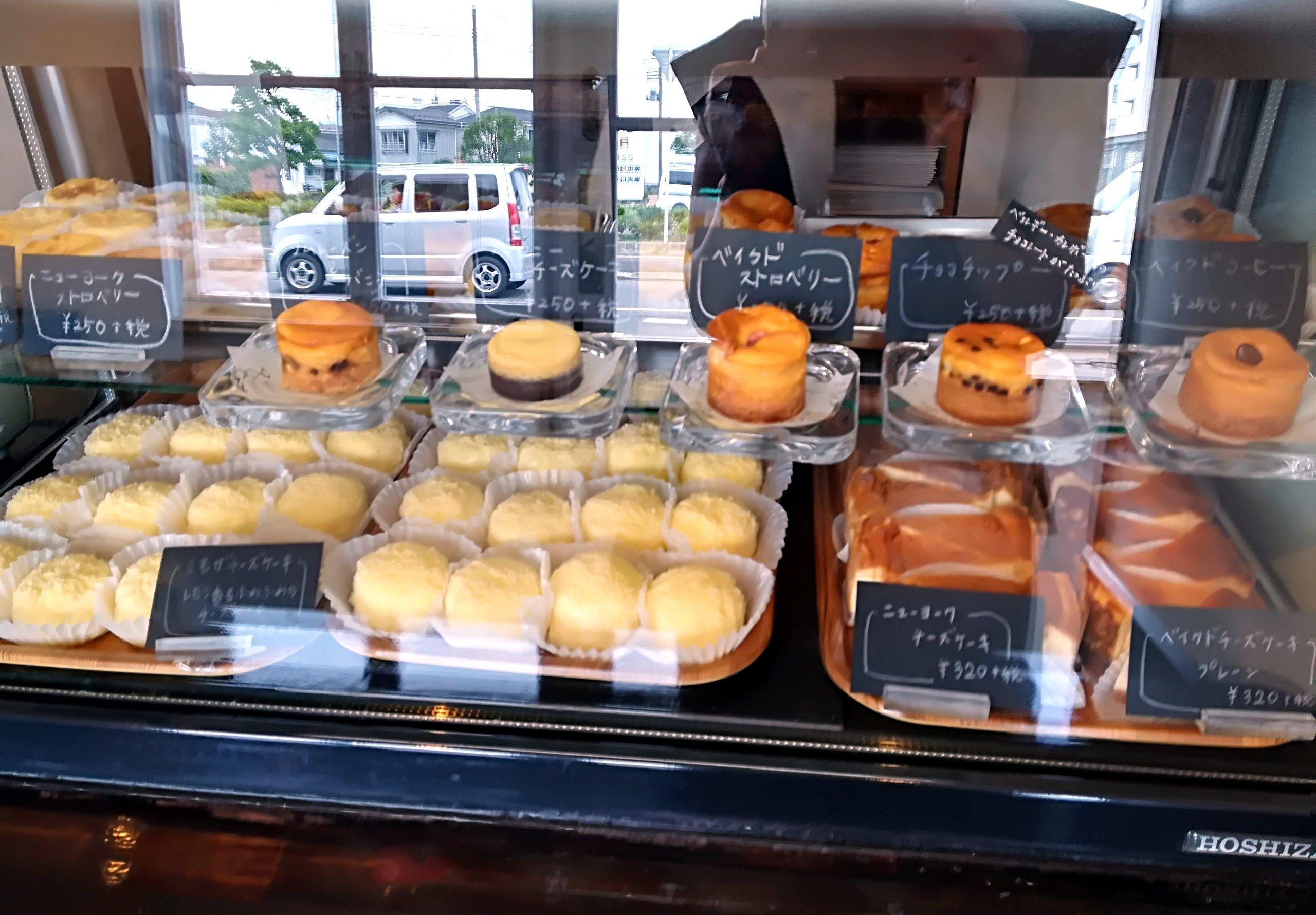 10種類のミモザチーズケーキ