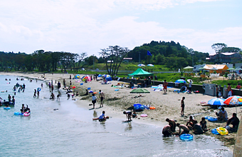 気仙沼 小田の浜海水浴場