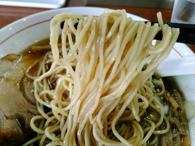 全粒粉ストレート細麺