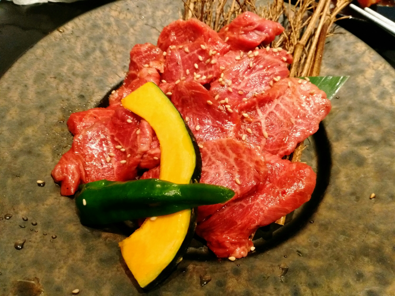 炭火いちばじゅう。の仙台牛ロース