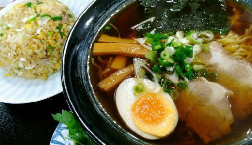 ラーメン日記|太白区東中田「木の家食堂」で醤油ラーメンと半チャーハン