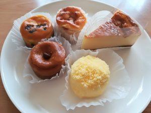 袋原 ミモザチーズケーキ