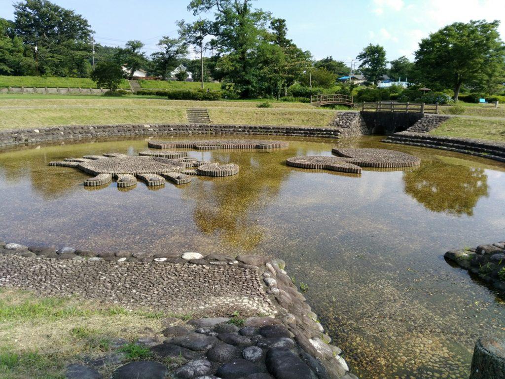 白石川緑地公園の池