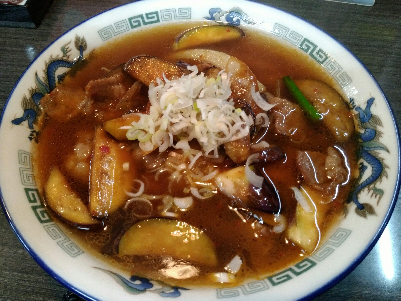 東龍名取店の東龍麺