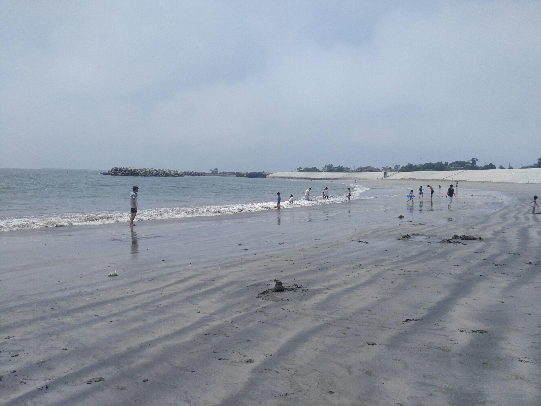 南側の砂浜