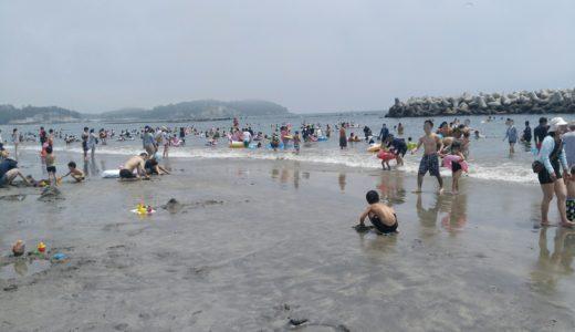 菖蒲田海水浴場レポ|海の家いっぱいでほどよい混み具合