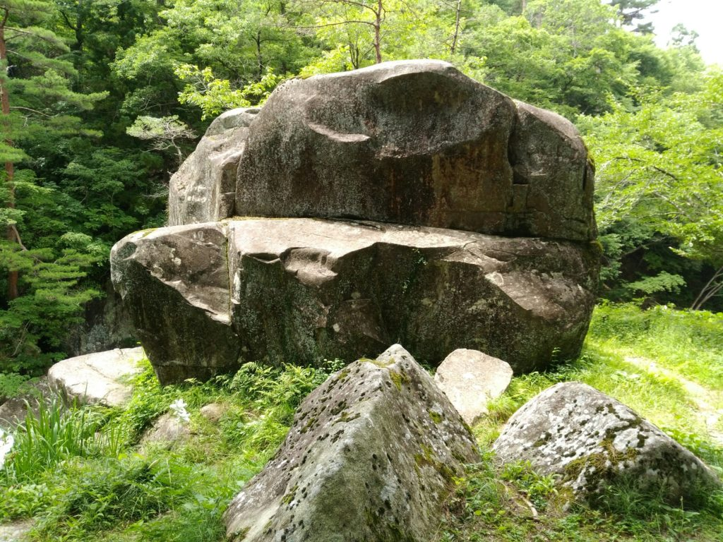 不動尊公園の岩