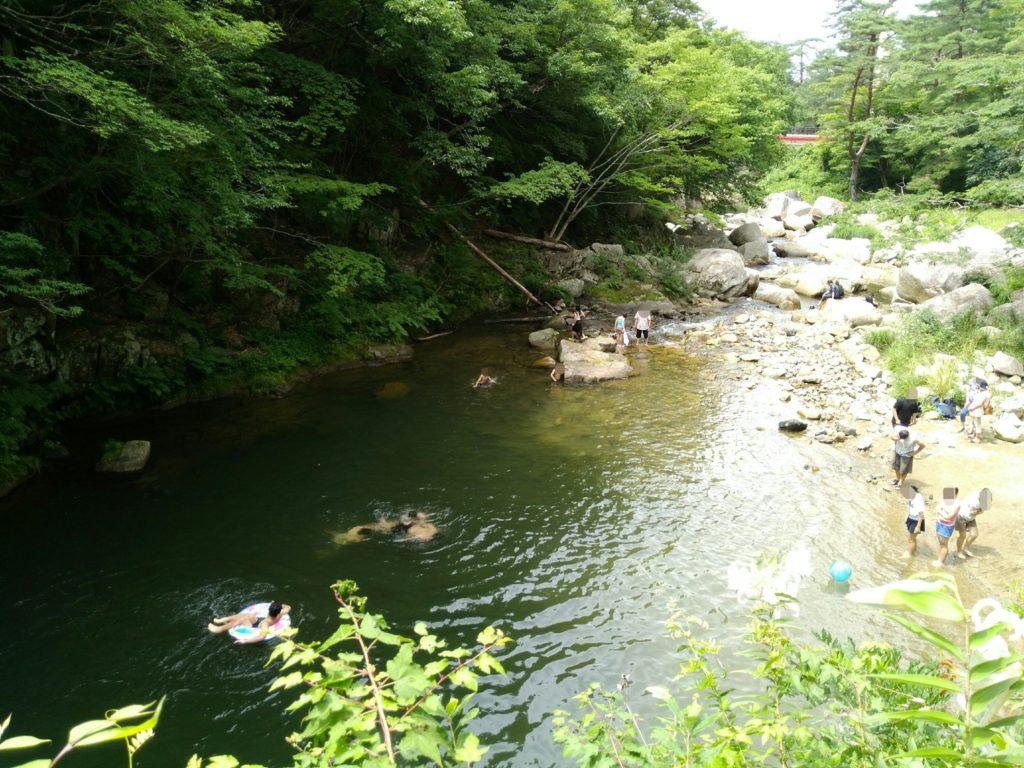 不動尊公園の川
