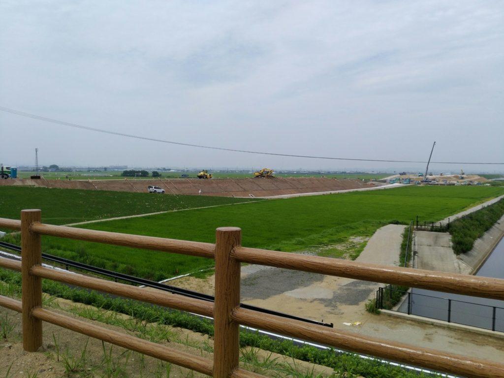海岸公園周辺は工事中