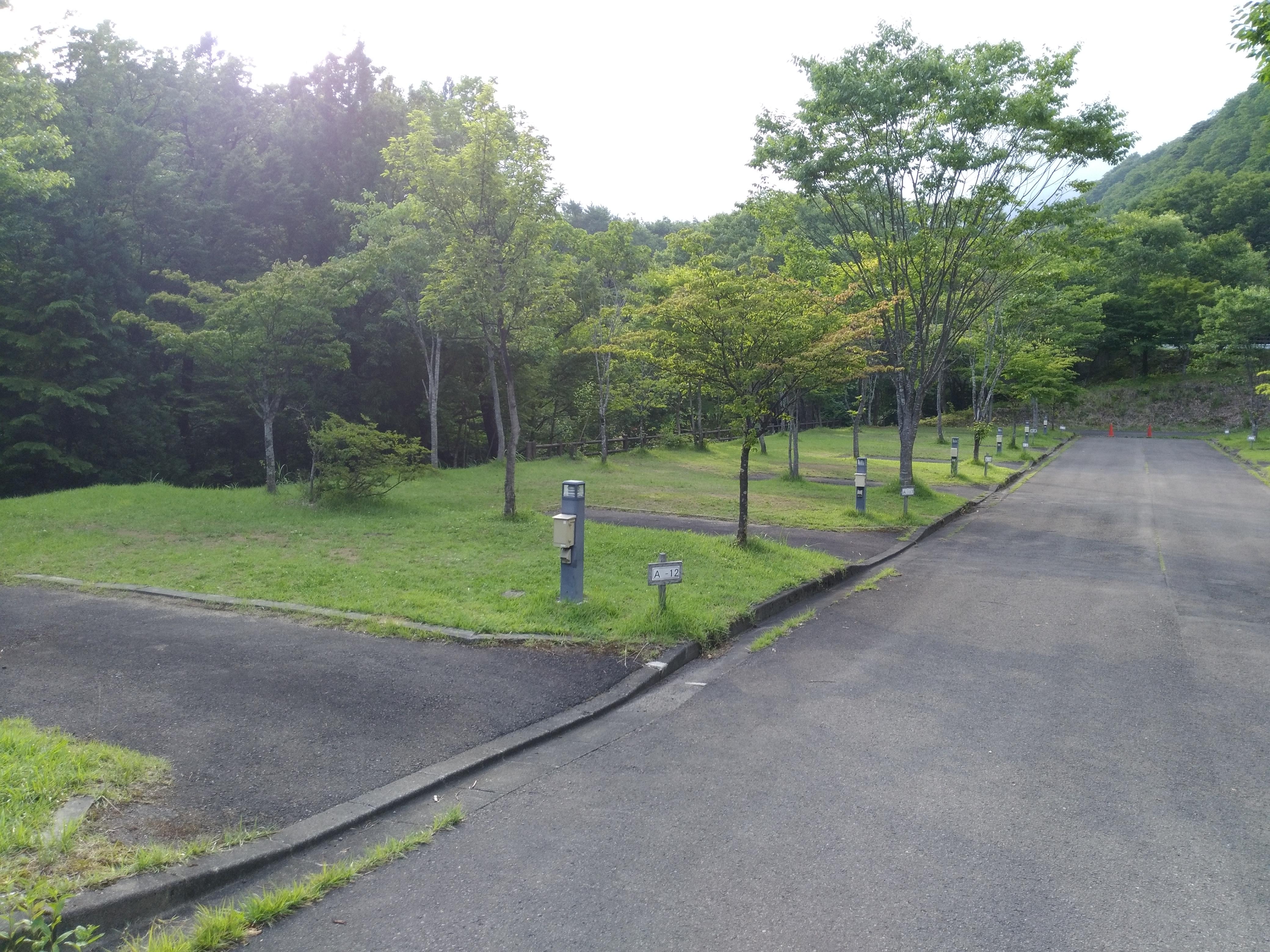 笹谷オートキャンプ場 Aサイト