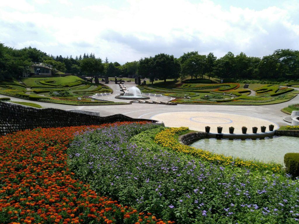 みちのく杜の湖畔公園 彩の広場