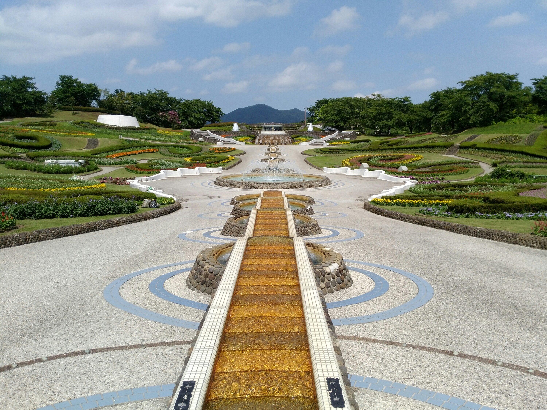 川崎町みちのく杜の湖畔公園