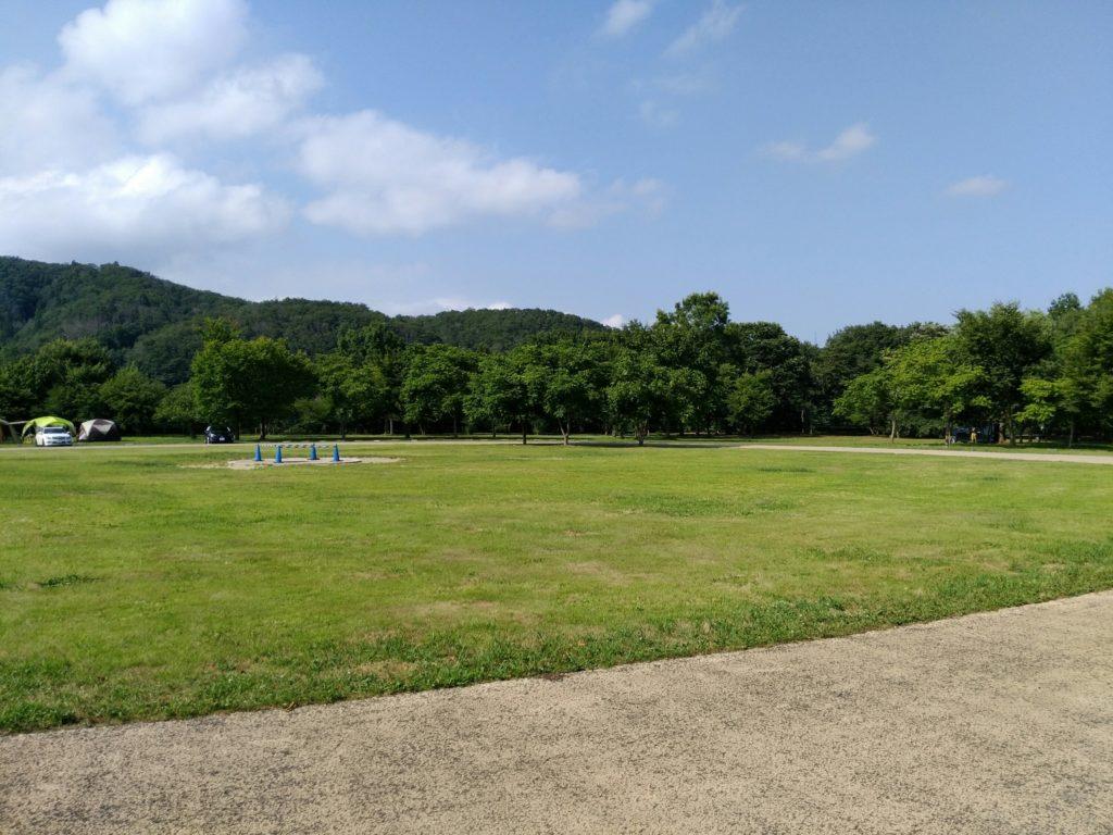 川崎町エコキャンプみちのくのフリーテントサイト
