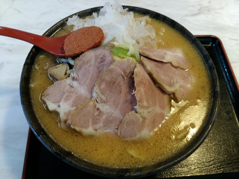 川崎町ラーメン渓流の味噌ラーメン
