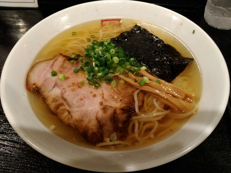 角屋の特製塩らぁ麺