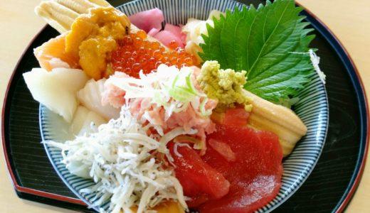 ゆりあげ港朝市メイプル館で海鮮丼ランチ