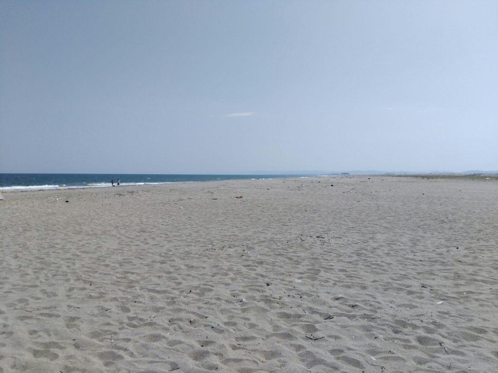 ゆりあげビーツの砂浜