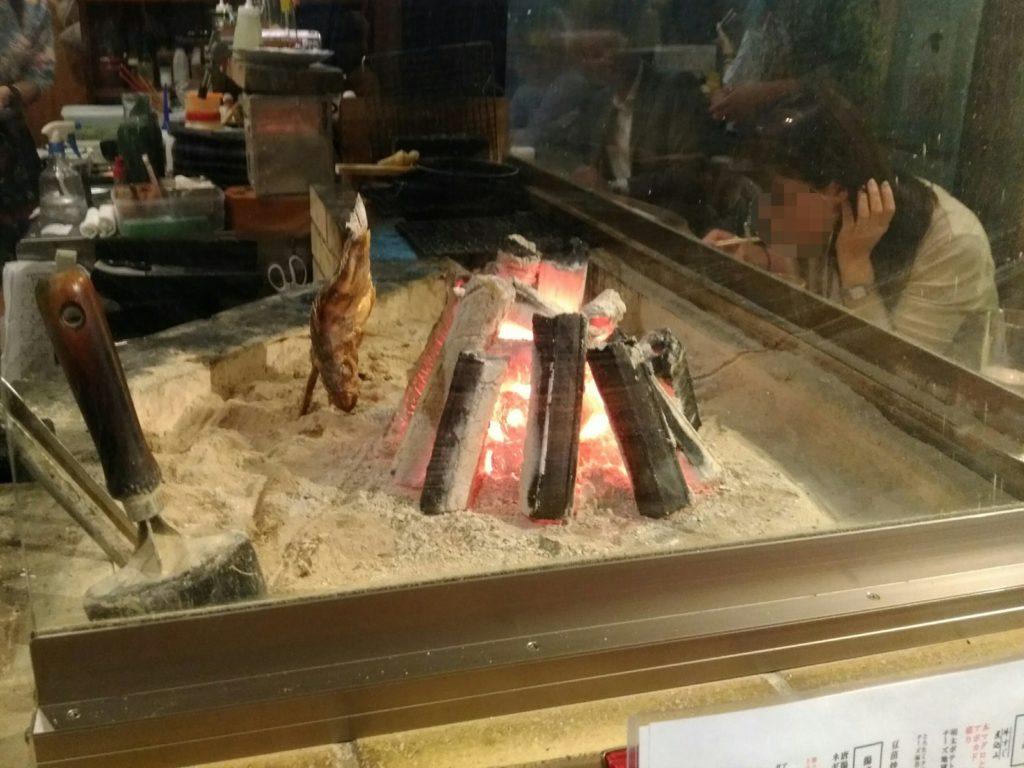 炭レちゃんの囲炉裏