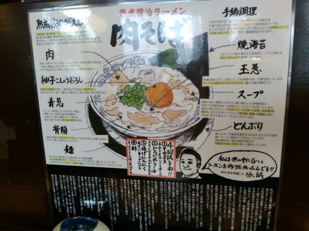 丸源ラーメン 肉そばの食べ方