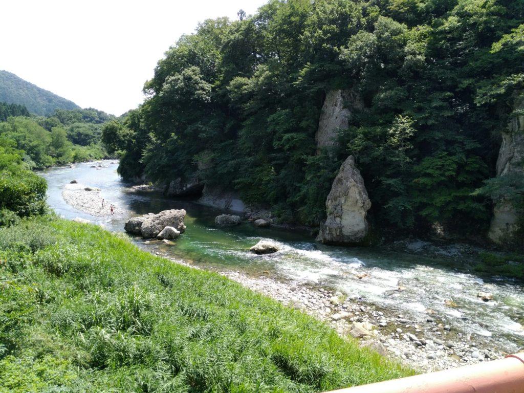 名取川下流(羽山橋から)