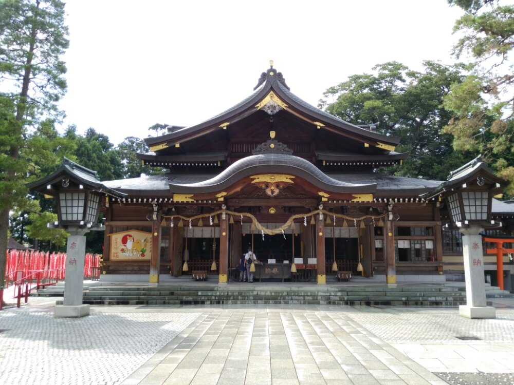 竹駒神社 本殿社殿
