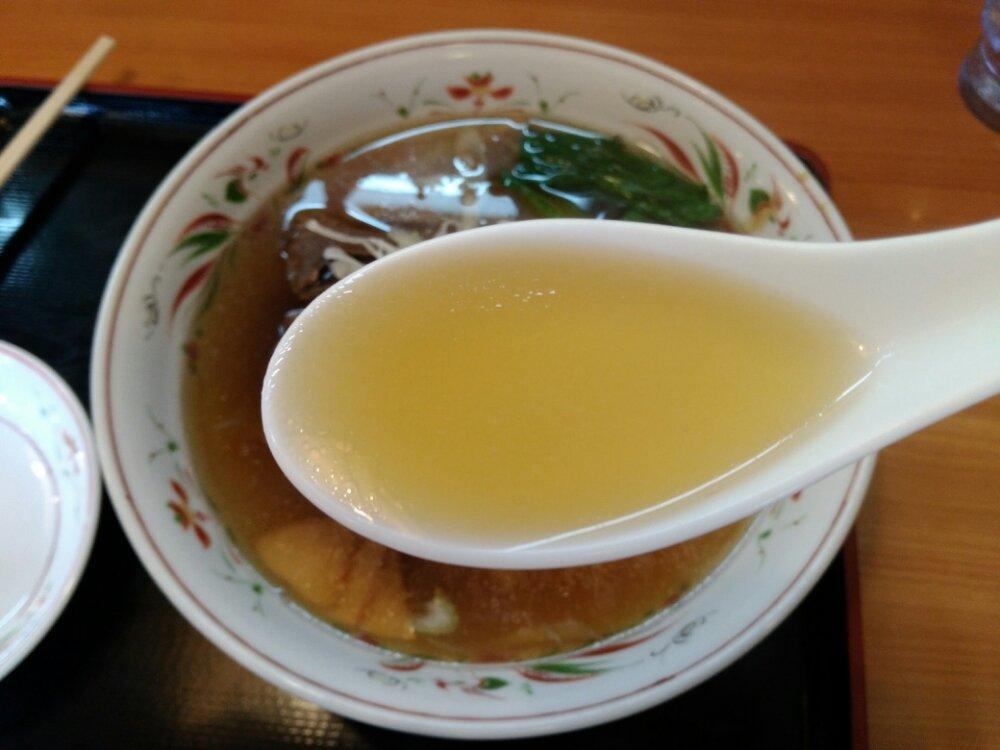 懐かしい味のスープ