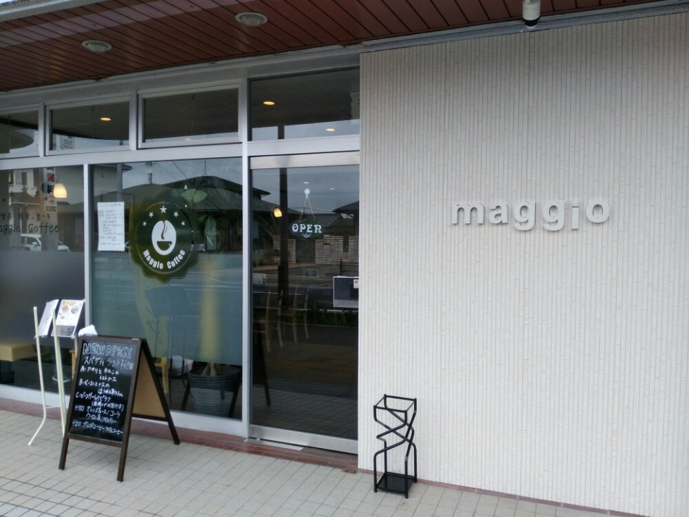 岩沼市駅前のMaggio Coffee