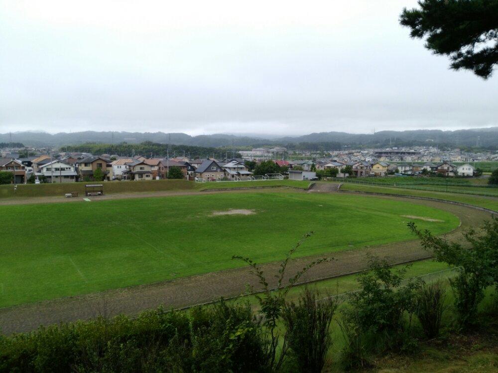 名取市 十三塚公園 陸上競技場