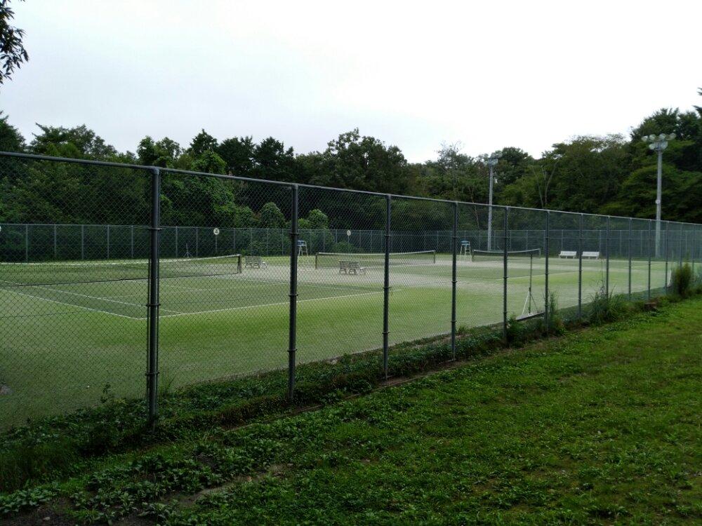 名取市 十三塚公園 テニスコート