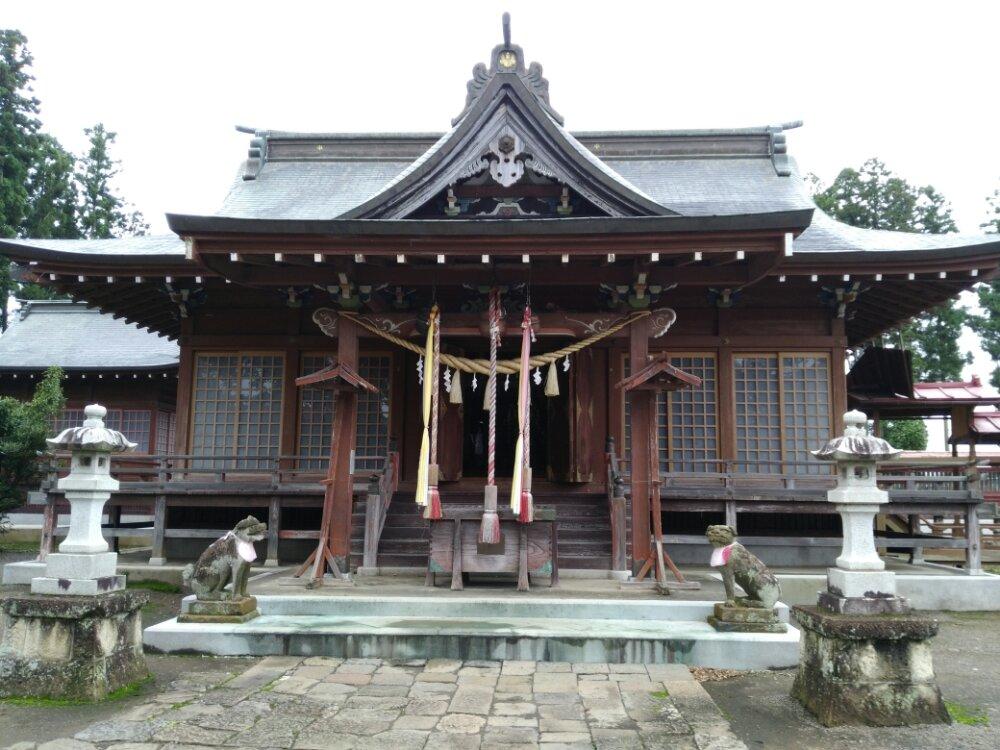 名取市 熊野神社 社殿