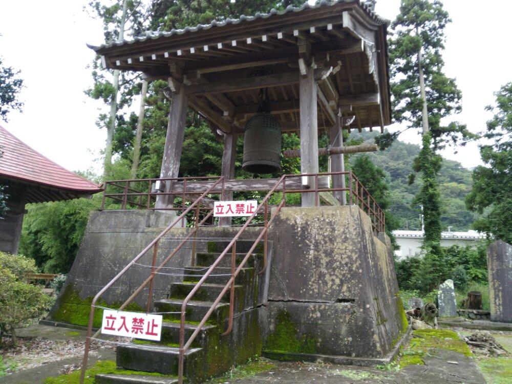 名取市 熊野神社(熊野新宮社) 鐘堂