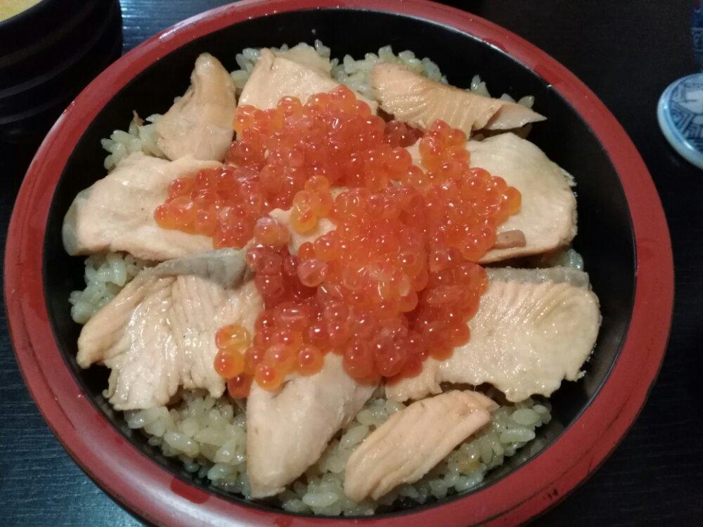 亘理町 与香朗寿司 はらこ飯