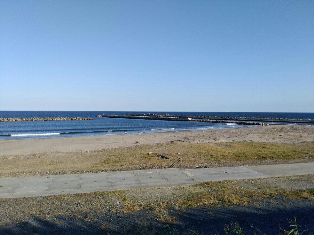 荒浜海岸 海