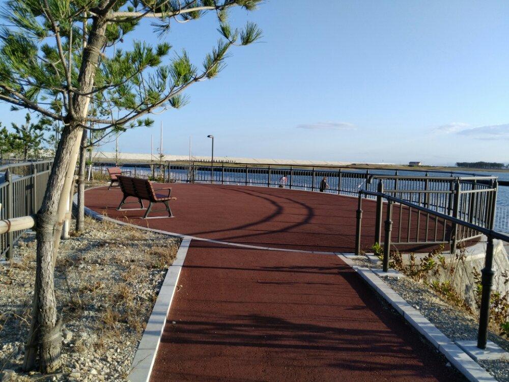 荒浜漁港公園 展望広場
