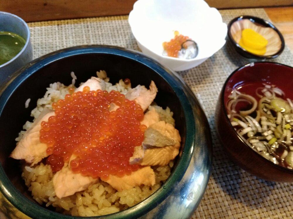 亘理町 松寿司のはらこ飯定食