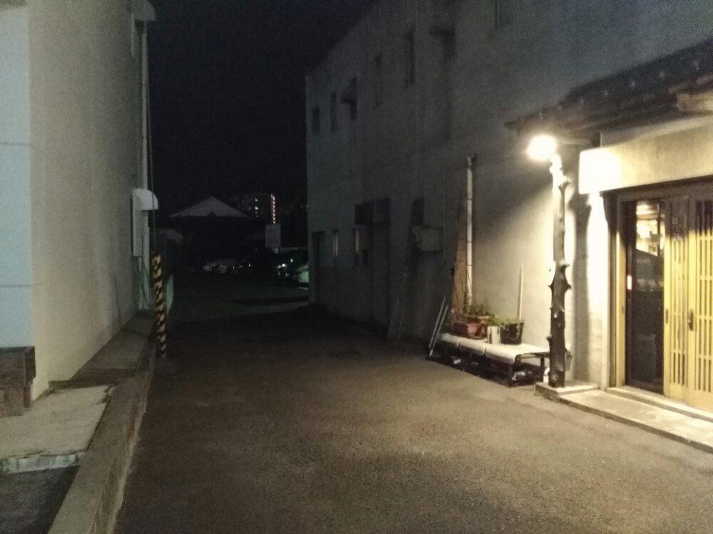 蔵タ家の駐車場