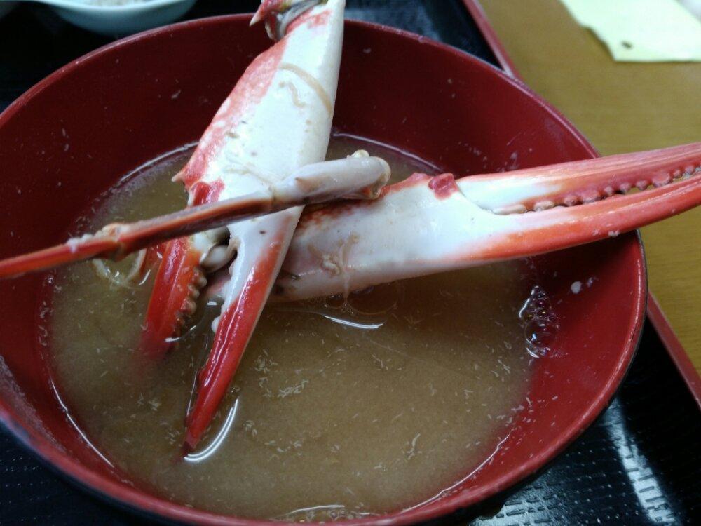 蟹汁(2杯目)