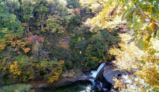 【体験レポート】七ヶ宿町 滑津大滝|夏は川遊び・秋は紅葉ライトアップ
