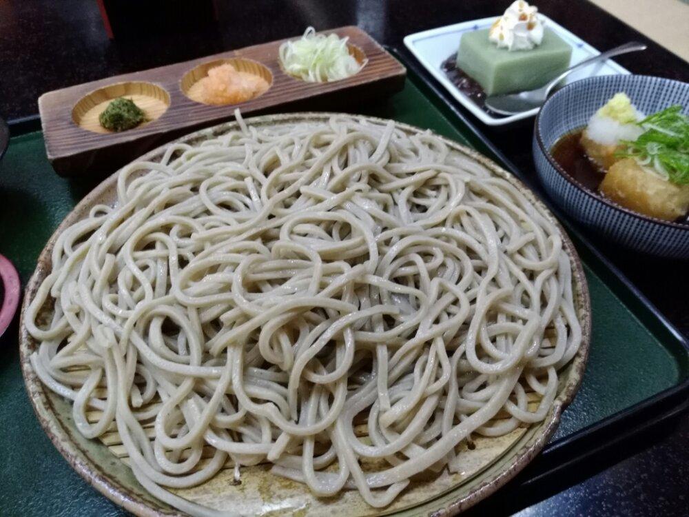 七ヶ宿 蕎麦