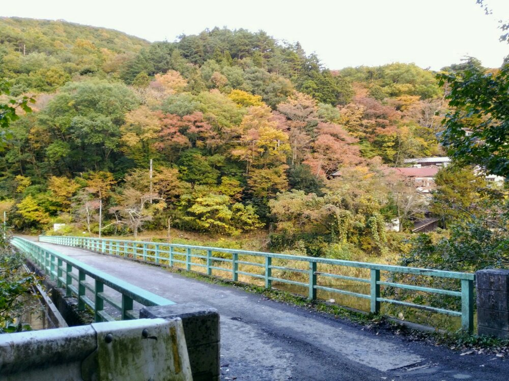 小原渓谷の橋