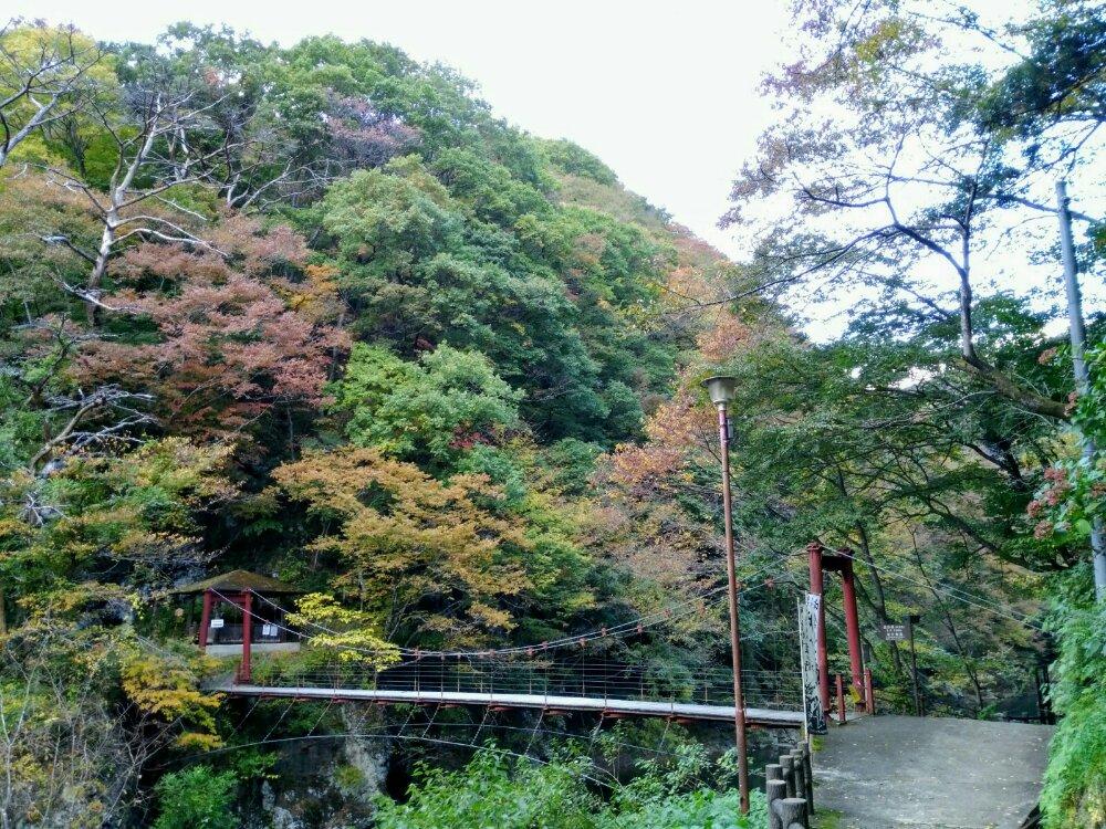碧玉渓(へきぎょくけい)の紅葉