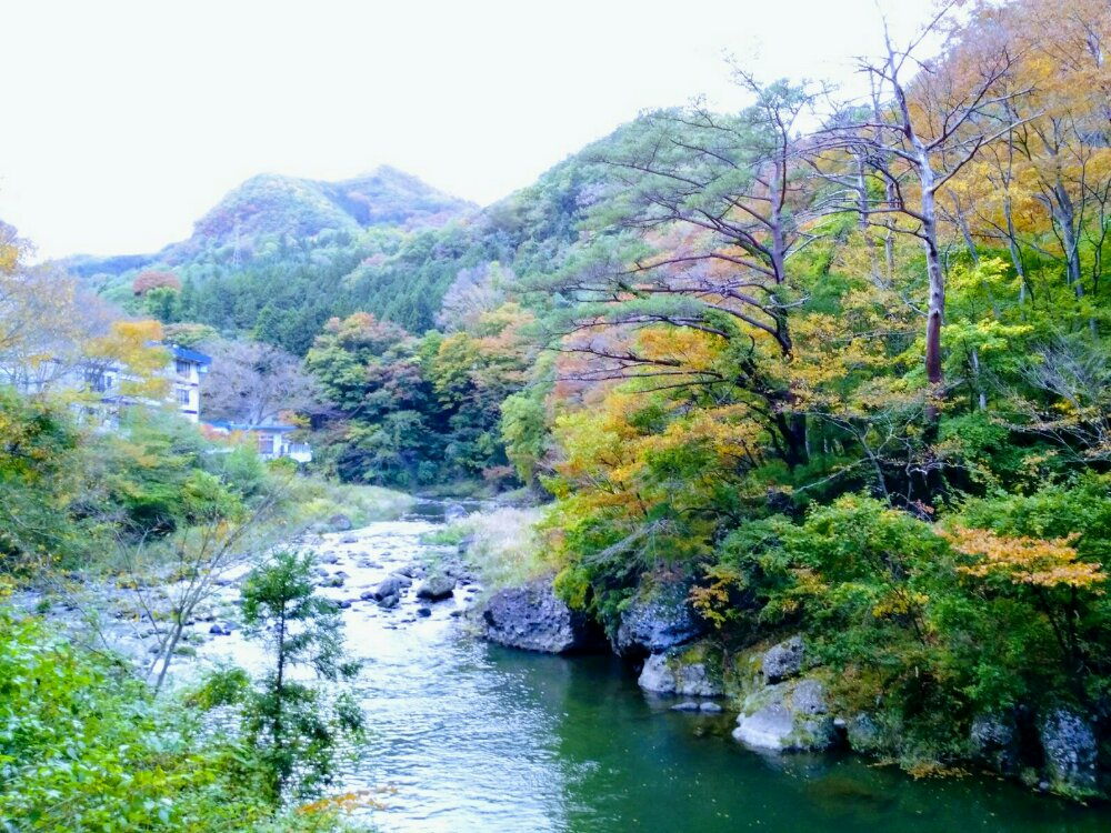 碧玉渓の紅葉