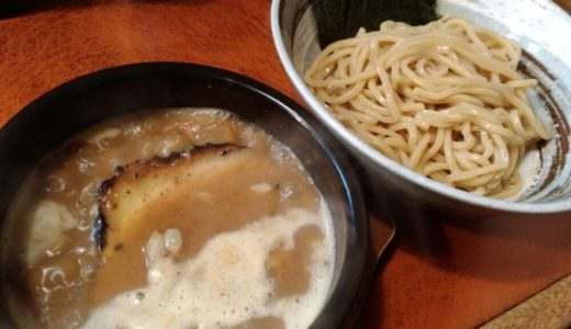 【ラーメン日記】岩沼市 つけ麺 うまづら|ぐつぐつスープともちもち麺が旨い!