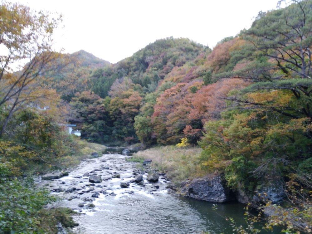碧玉渓の上流