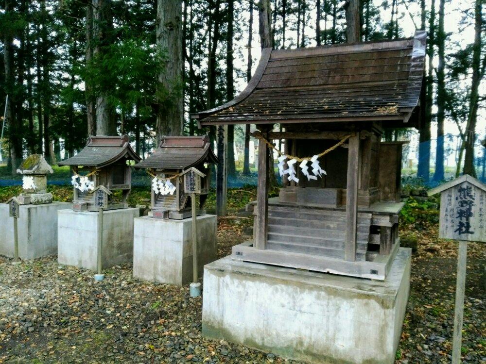 秋保神社の境内社