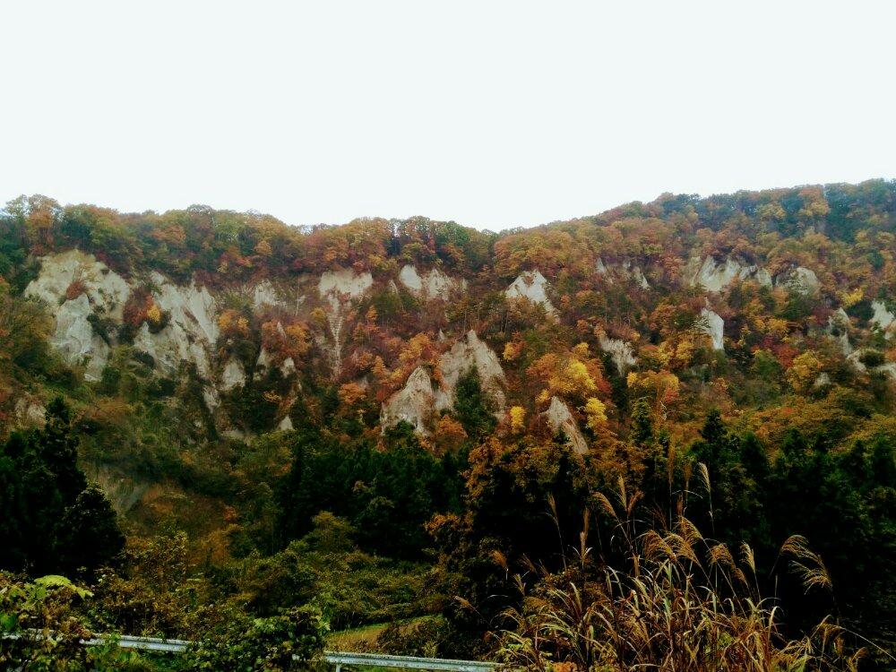 秋保 白岩の紅葉