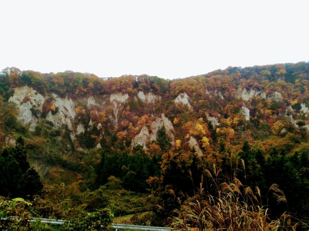 秋保白岩の紅葉